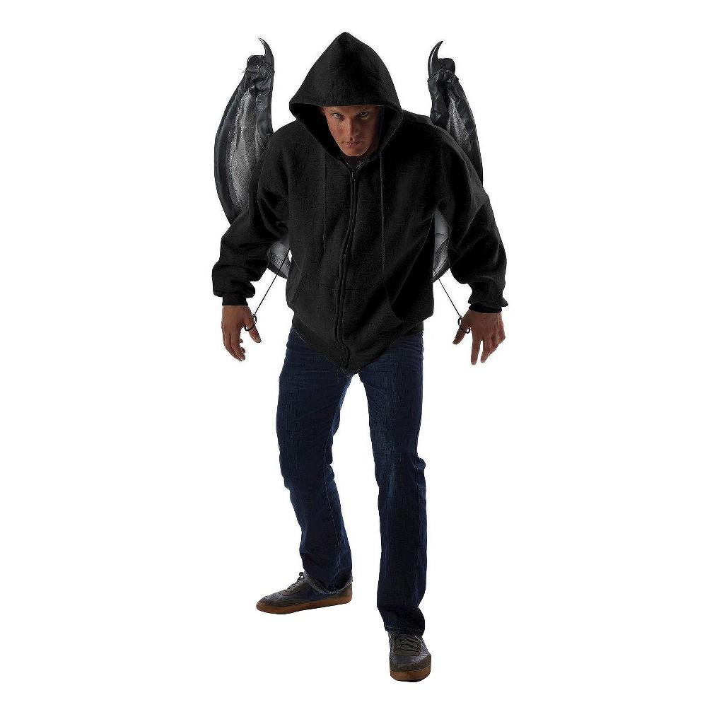 Women's Wicked Costume Wings, Black