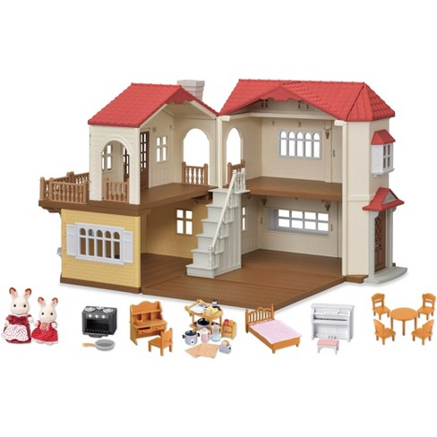 4d1bfdbc071b Calico Critters Red Roof Country Home Gift Set   Target