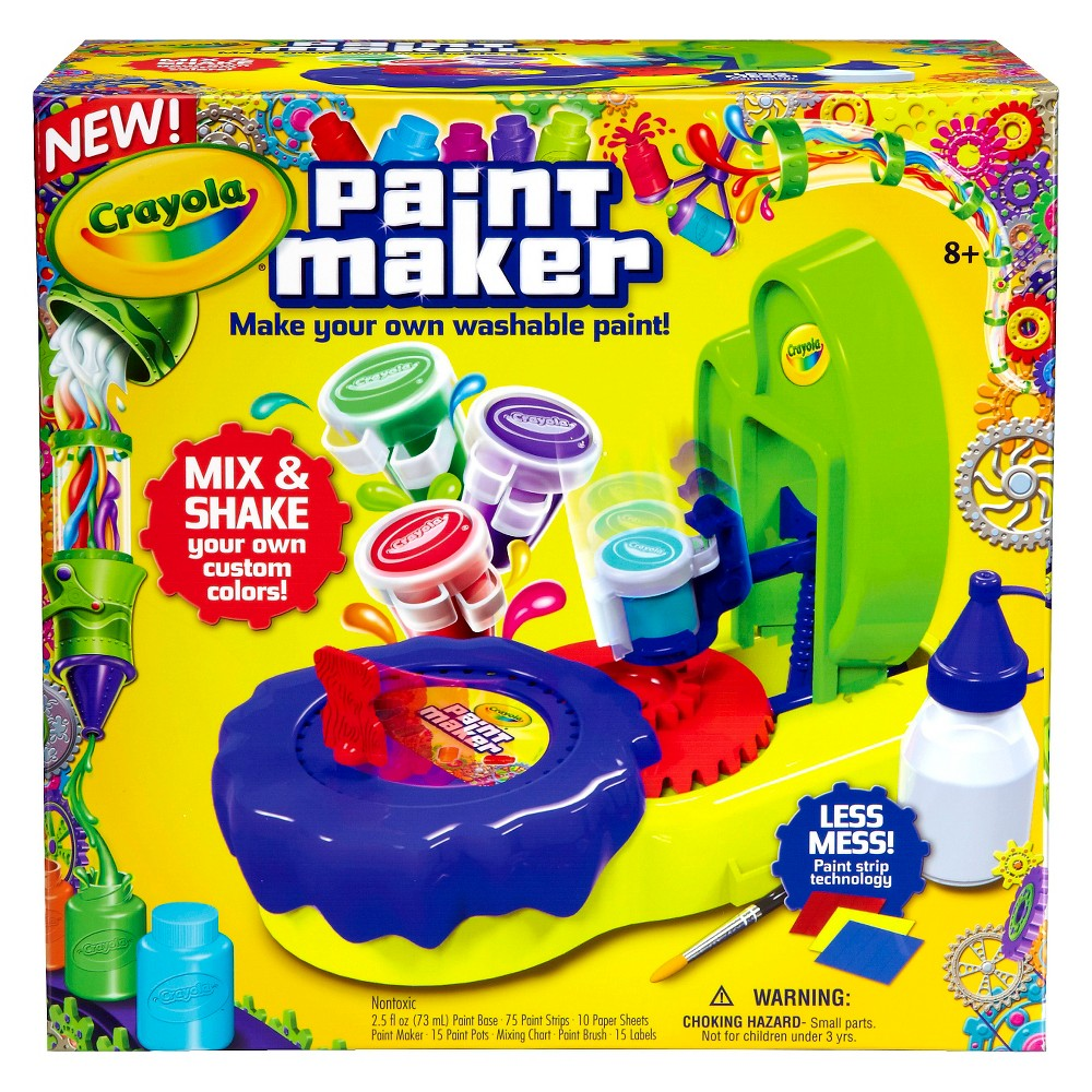 Crayola Paint Maker, Multi-Colored