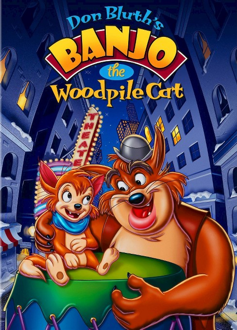 Banjo The Woodpile Cat (DVD) - image 1 of 1