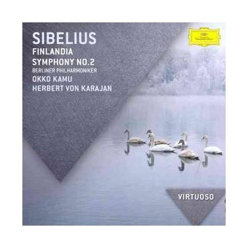 Sibelius - Virtuoso: Sibelius- Finlandia/Symphony No. 2 (CD) - image 1 of 1