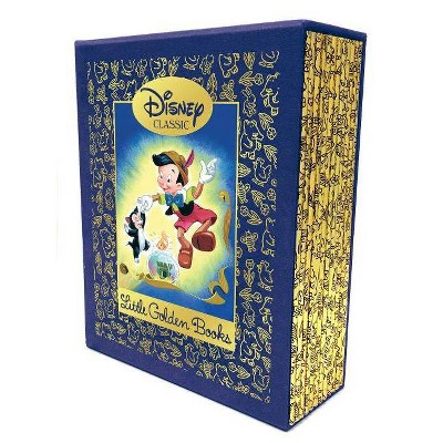 12 Beloved Disney Classic Little Golden Books (Disney Classic)- by Various (Mixed Media Product)