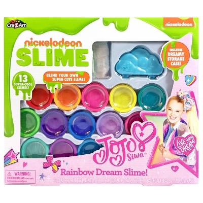 Nickelodeon JoJo Siwa Rainbow Dream Slime Kit by Cra-Z-Art