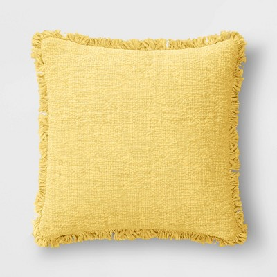 Throw Pillow with Fringe - Threshold™