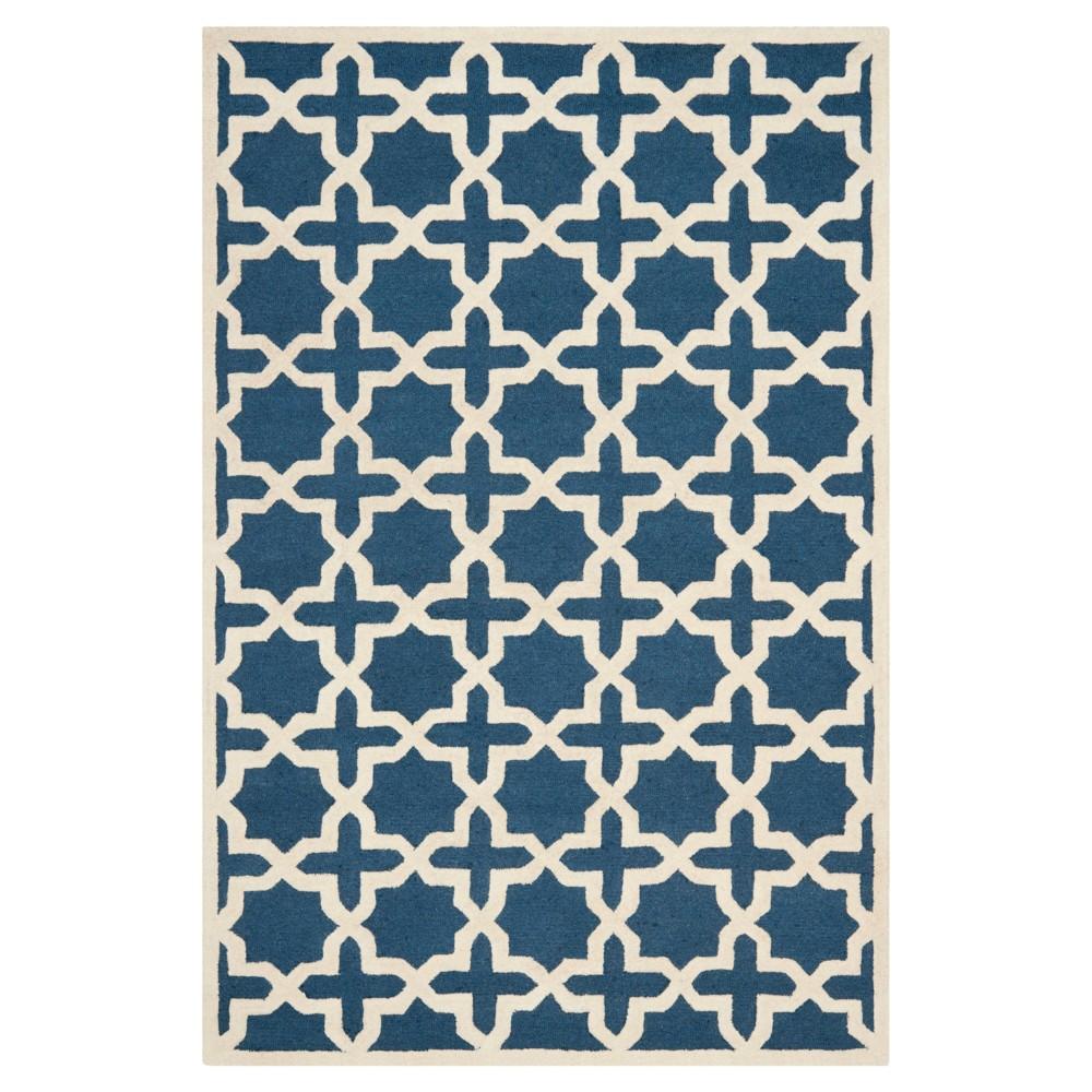 6' x 9' Marnie Rug - Safavieh, Blue/Ivory