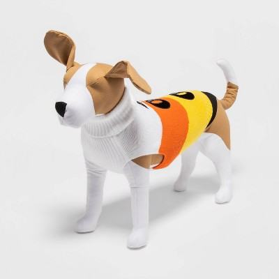 Candy Corn Halloween Dog Sweater - M - Hyde & EEK! Boutique™
