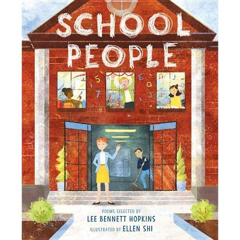 School People - by  Lee Bennett Hopkins (Hardcover) - image 1 of 1