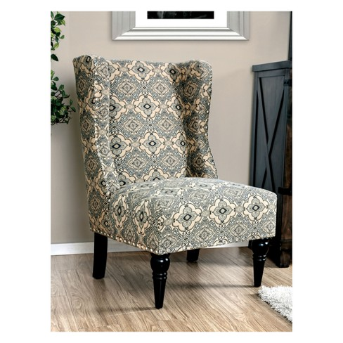 Iohomes Galvez Contemporary Wingback Accent Chair - image 1 of 2