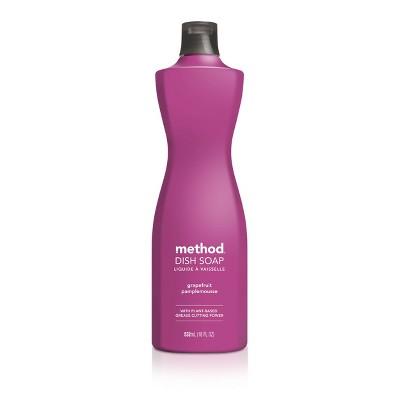 Method Liquid Dish Soap Grapefruit - 18oz