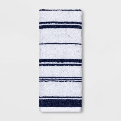 Performance Hand Towel Navy Stripe - Threshold™