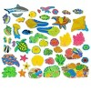 Coral Reef Connectagons Wooden Building Set For Kids - Hearthsong - image 2 of 2