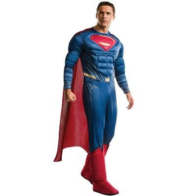 DC Comics JL Deluxe Superman Adult Costume