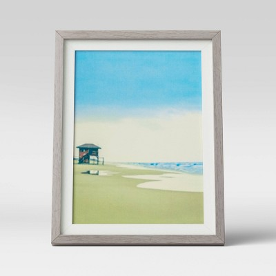 "5"" x 7"" Frame Gray and White - Room Essentials™"