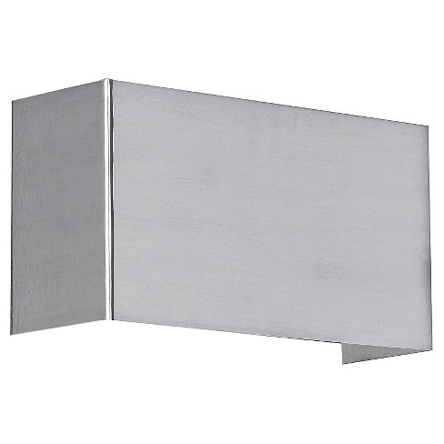 "Nikita Wall Light 9"" Matte Nickel - Eglo - image 1 of 1"