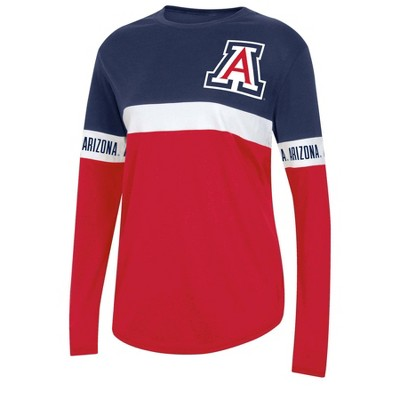 NCAA Arizona Wildcats Women's Long Sleeve T-Shirt
