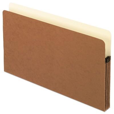 Pendaflex Standard Expanding File Pockets Manila Straight Cut 1 Pocket Legal Redrope 1526EOX