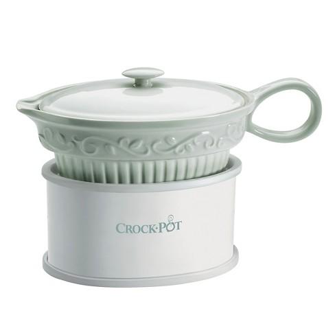Crock Pot Gravy Boat White Sccpvg000 Target