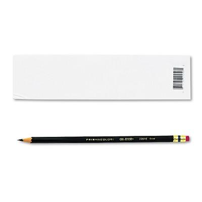 Prismacolor Col-Erase Pencil w/Eraser Green Lead/Barrel Dozen 20046