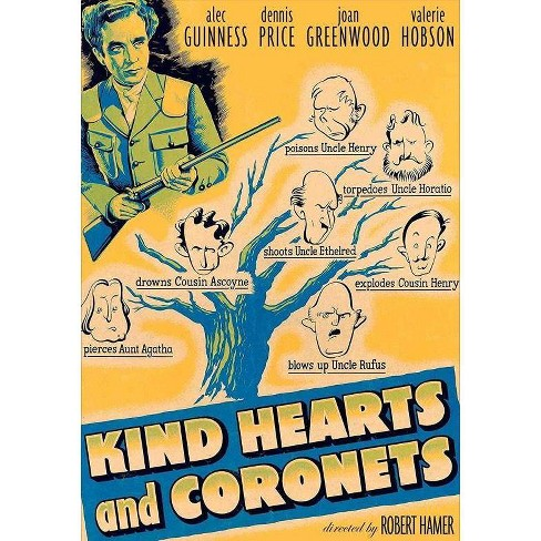 Kind Hearts And Coronets (DVD) - image 1 of 1