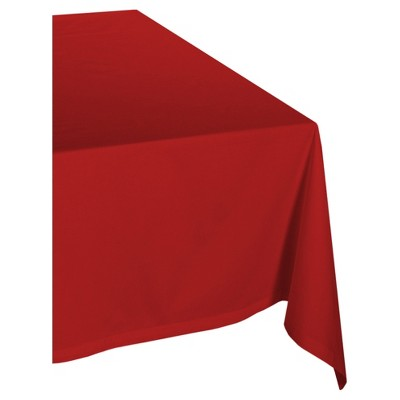 "Red Tablecloth (60""x84"") - Design Imports"