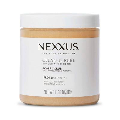 Nexxus Clean & Pure Sulfate-Free Scalp Scrub Exfoliating and Nourishing Hair Treatment - 11.25 fl oz