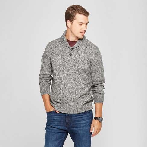 Mens Shawl Pullover Sweater Goodfellow Co Target