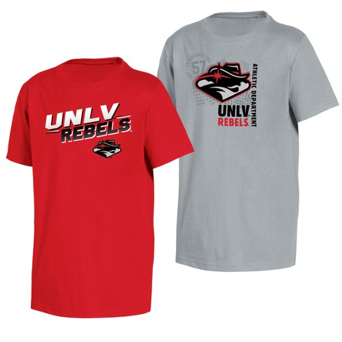 UNLV Rebels Double Trouble Toddler Short Sleeve 2pk T-Shirts - image 1 of 3
