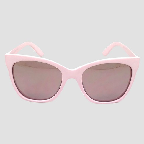 Women's Square Sunglasses - A New Day™ Pink - image 1 of 2
