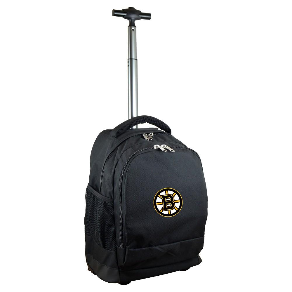 Nhl Mojo Boston Bruins Wheeled Backpack Black