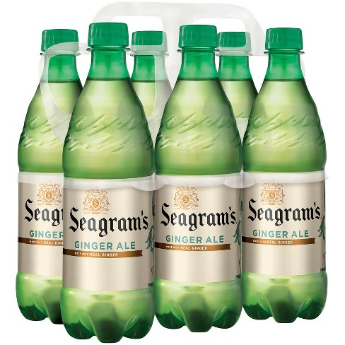 Seagram's Ginger Ale - 6pk/16.9 fl oz Bottles - image 1 of 2