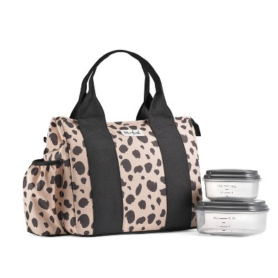 Fit & Fresh Sanibel Lunch Tote - Cheetah