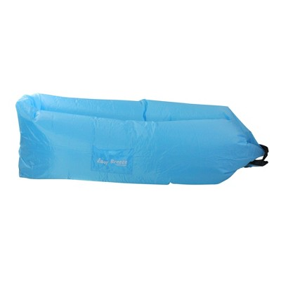 """Pool Central 94"""" Inflatable Easy Breeze 1-Person Land or Water Air Sofa - Blue"""