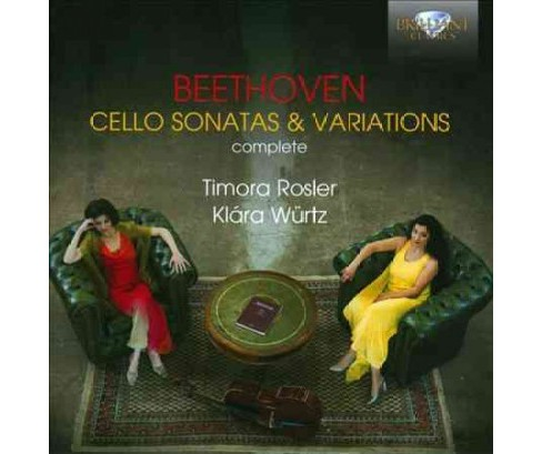 Timora rosler - Beethoven:Complete cello sons & varia (CD) - image 1 of 1