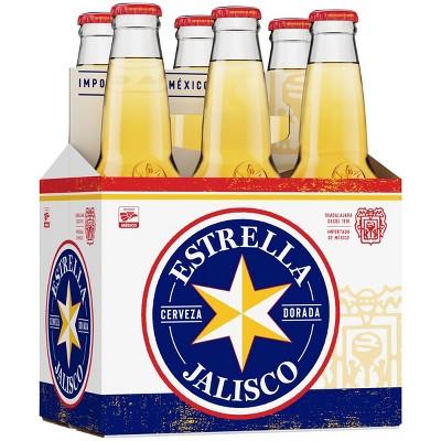 Estrella Jalisco Beer - 6pk/12 fl oz Bottles