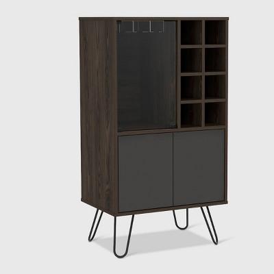 Aster Bar Cabinet Brown - RST Brands