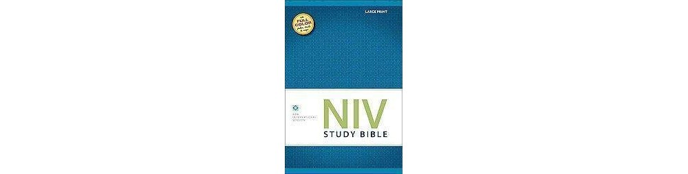 NIV Study Bible : New International Version (Large Print)...