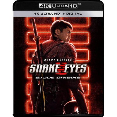 Snake Eyes: G.I. Joe Origins (4K/UHD + Blu-ray + Digital)