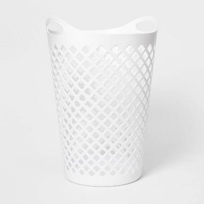 Flexi Laundry Hamper White - Room Essentials™