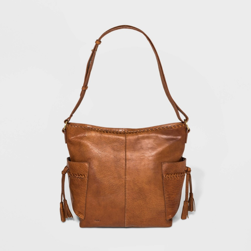 Image of Bolo Barrow Tote Handbag - Brown, Women's