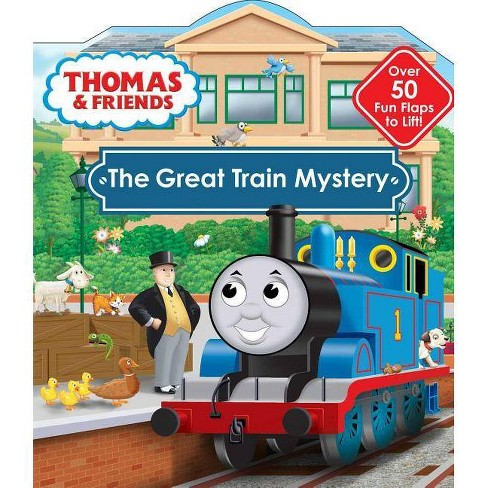 Thomas & Friends: The Great Train Mystery - (Thomas & Friends (Board Books)) by  Maggie Fischer - image 1 of 1