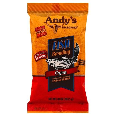 Andy's Fish Breading Cajun - 10oz - image 1 of 2