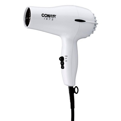 Conair Mid Size Hair Dryer - White - 1875 Watts