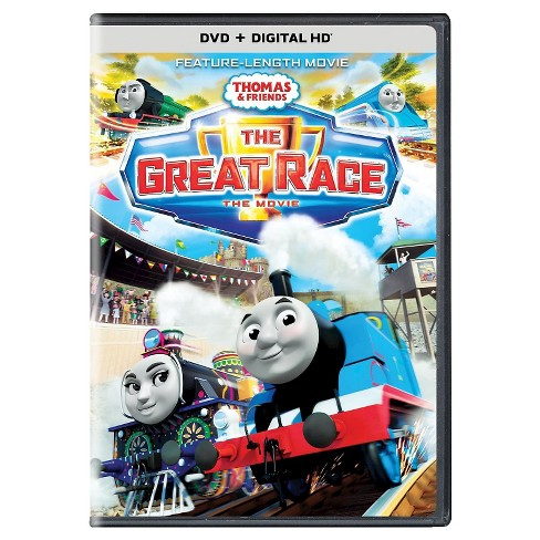 thomas friends the great race dvd target