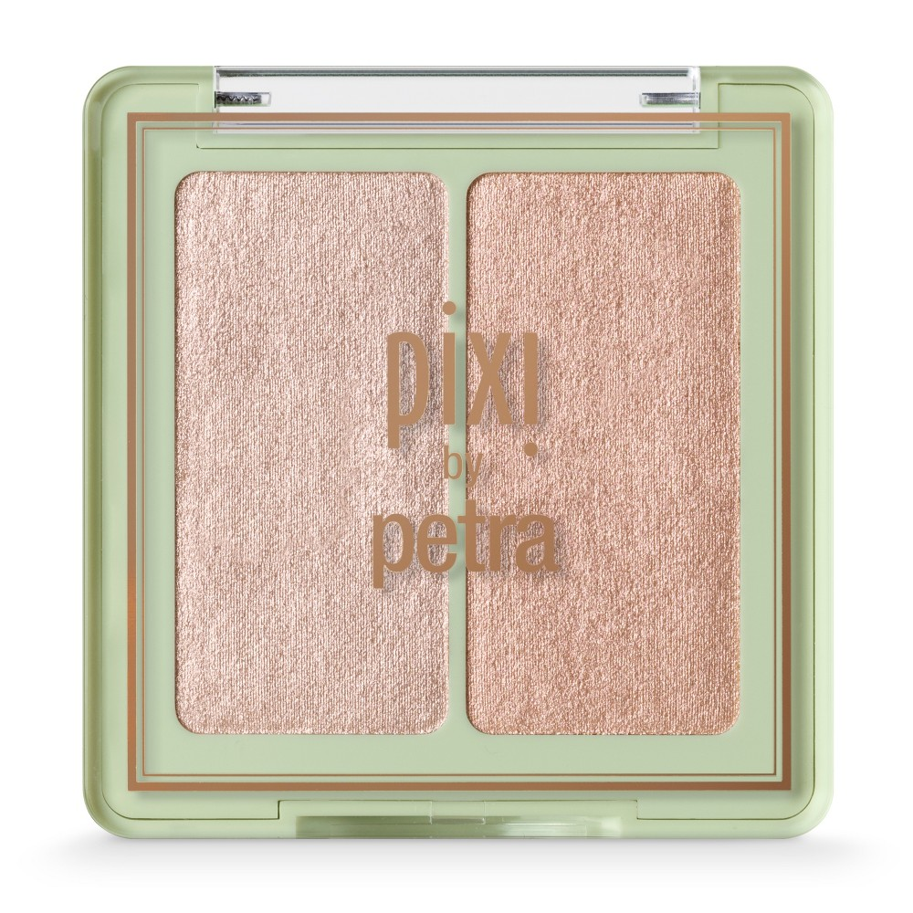 Image of Pixi Glow-y Glossamer Duo Delicate Dew - 0.03oz