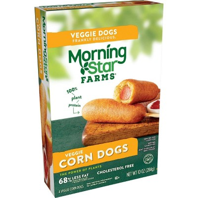 Morningstar Farms Veggie Classics Frozen Corn Dogs - 10oz/4pk