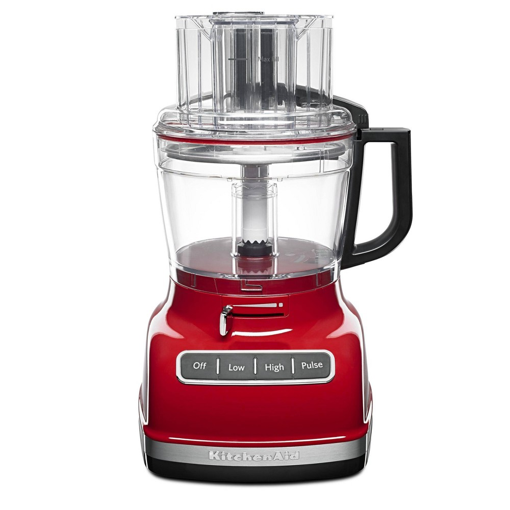 Image of KitchenAid 11 Cup Food Processor with ExactSlice System - KFP1133, Empire Red