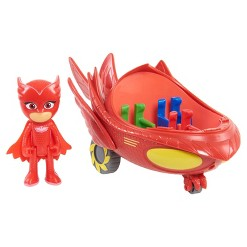 PJ Masks Toy Vehicle Owlette Flyer
