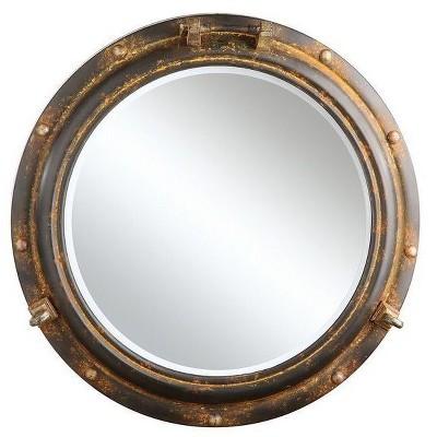 Metal Porthole Mirror - 3R Studios