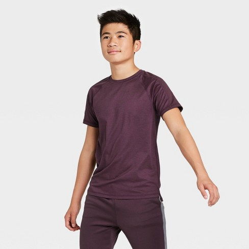 Boys' Short Sleeve Soft Gym T-Shirt - All in Motion™ - image 1 of 4