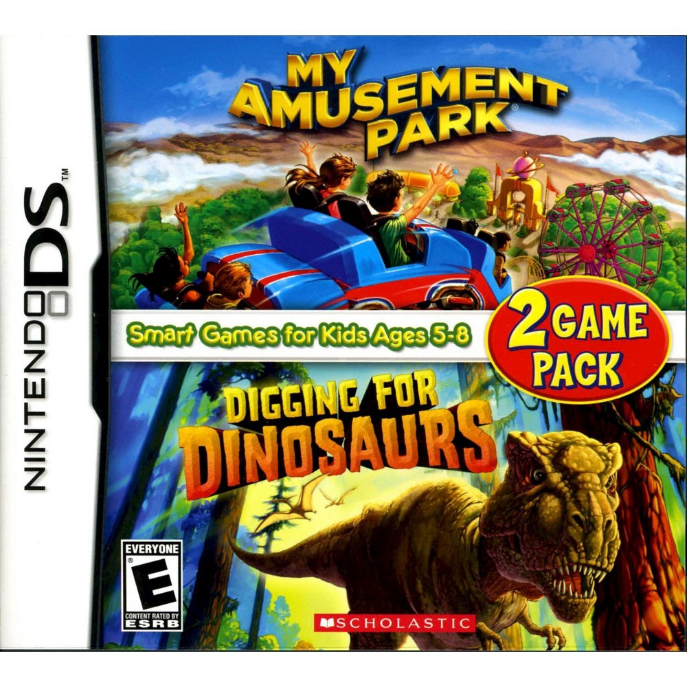 My Amusement Park and Digging for Dinosaurs Game Pack Nintendo DS